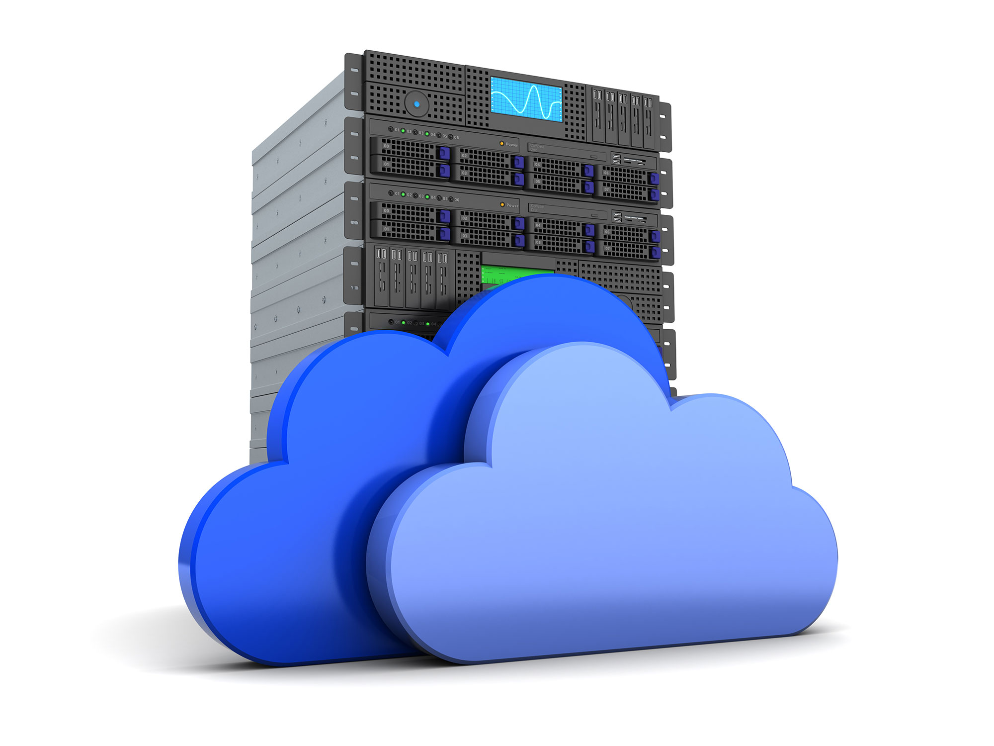 Server in cloud