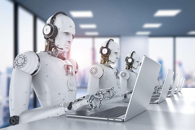 Roboti care raspund la telefon