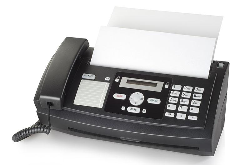 Aparat de fax